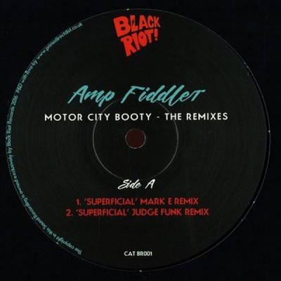 Amp Fiddler - Motor City Booty - The Remixes