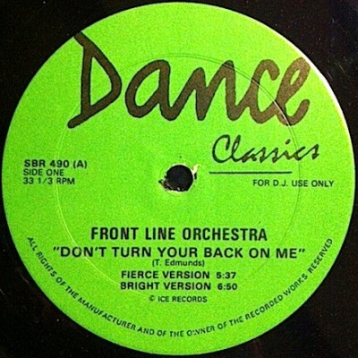 Frontline Orchestra / Trickeration - Don't Turn Your Back On Me / Western Gangster Town