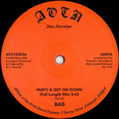 BAB (Big Apple Band) - Party & Get On Down