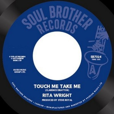 Rita Wright - Touch Me Take Me / Love Is All You Need