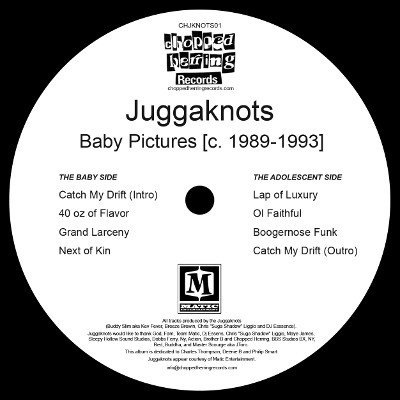 Juggaknots - Baby Pictures c. 1989-1993