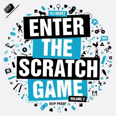 DJ Hertz - Enter The Scratch Game Volume 2 Clear Blue Vinyl Edition
