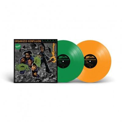 Organized Konfusion  - Stress: The Instrumental Agenda Colored Vinyl Edition