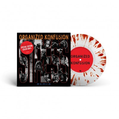 Organized Konfusion  - Stress Large Pro Remix Colored Vinyl Edition