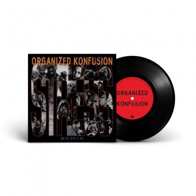 Organized Konfusion  - Stress Large Pro Remix Black Vinyl Edition