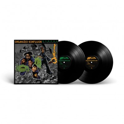 Organized Konfusion  - Stress: The Instrumental Agenda Black Vinyl Edition