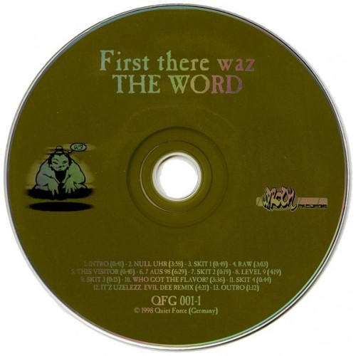 Various - First There Waz The Word. The EP.