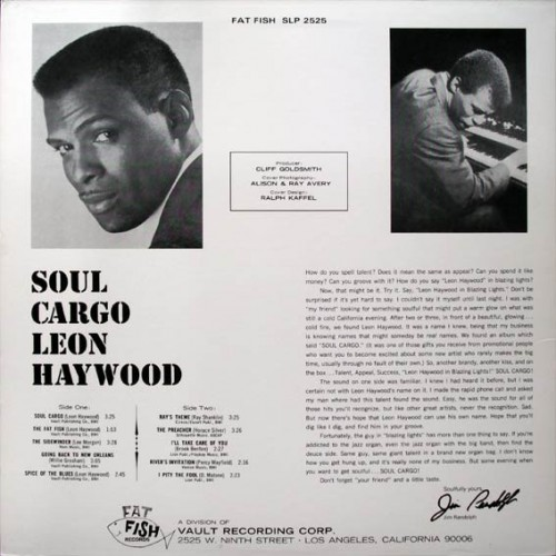 Leon Haywood - Soul Cargo