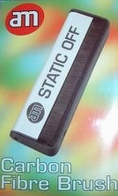 Schallplatten-Kohlefaserbürste - Static Off
