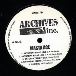 Masta Ace - Saturday Night Live (Remixes)