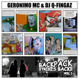 Geronimo MC & Dj Q-Fingaz - Backpack Strikes Back Vol.1