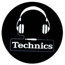 Slipmat - Technics Headphone Logo