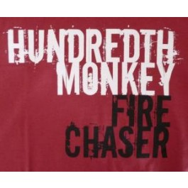 Hundredth Monkey - Fire Chaser T-Shirt (RED)