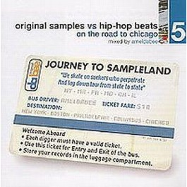 Dj Ameldabee - Original Samples vs Hip-Hop Beats Vol 5 CD