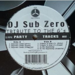DJ Sub Zero - Tribute To The G's