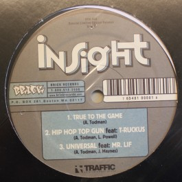 Insight - True To The Game / Hip Hop Top Gun / Universal