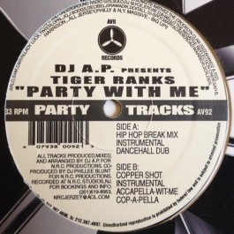 DJ A.P. - Party With Me