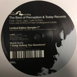 Black Ivory / The Fatback Band - The Best Of Perception & Today Records