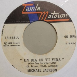 Michael Jackson - One Day In Your Life / Dapper-Dan