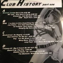 Various - Club History Part. 1