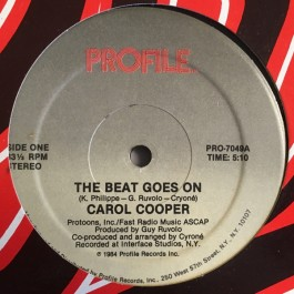 Carol Cooper - The Beat Goes On