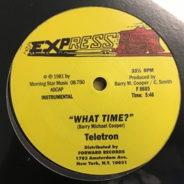 Teletron - What Time?