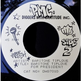 Baritone Tiplove - Get Me Back On Time / Baritone Tiplove For President