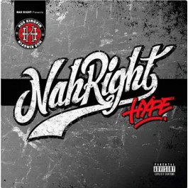 Hus Kingpin - Nah Right Hype 2-LP (White Limited Edition)