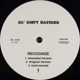 Ol' Dirty Bastard - Recognize