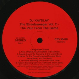 DJ Kay Slay - The Streetsweeper Vol. 2: The Pain From The Game