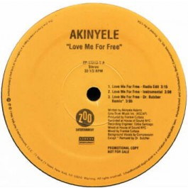 Akinyele - Love Me For Free