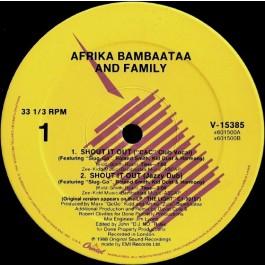 Afrika Bambaataa & Family - Shout It Out