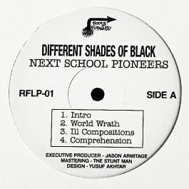 Different Shades of Black - Next School Pioneers