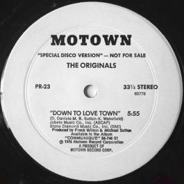 The Originals / Tata Vega - Down To Love Town / Full Speed Ahead
