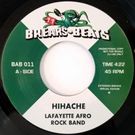 Lafayette Afro Rock Band / Gaz - Hihache / Sing Sing