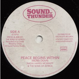 Nadia Harris Mcanuff & The Sons Of Africa - Peace Begins Within