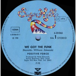 Positive Force - We Got The Funk