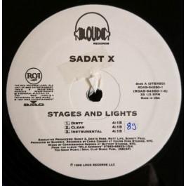 Sadat X - Stages & Lights / Hang 'Em High