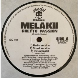Melakii - Ghetto Passion