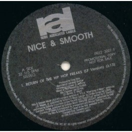 Nice & Smooth - Return Of The Hip Hop Freaks
