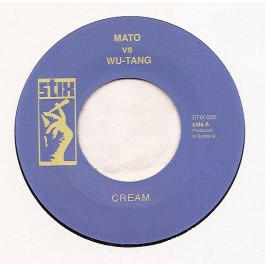 Mato Vs Wu-Tang / Mato Vs Naughty By Nature - Cream/ Clap Your Hands