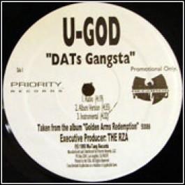 U-God - DATs Gangsta / Shell Shock