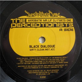 The Perceptionists - Black Dialogue
