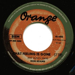 Don Adams - I Can't Stand Living / That Feeling Is Gone