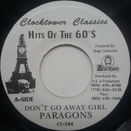 The Paragons - Don't Go Away Girl / Don't Go Dub