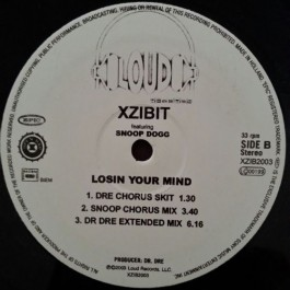 Xzibit Featuring Snoop Dogg - Losin Your Mind