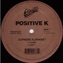 Positive K - Supreme Alphabet
