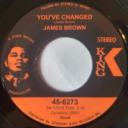 James Brown - You've Changed / Funk Bomb