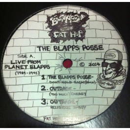 Blapps Posse, The - Live From Planet Blapps [1989-1991]