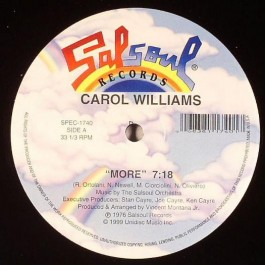 Carol Williams - More / Love Is You